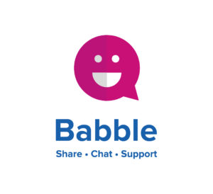 Babble_on_blue-300x274