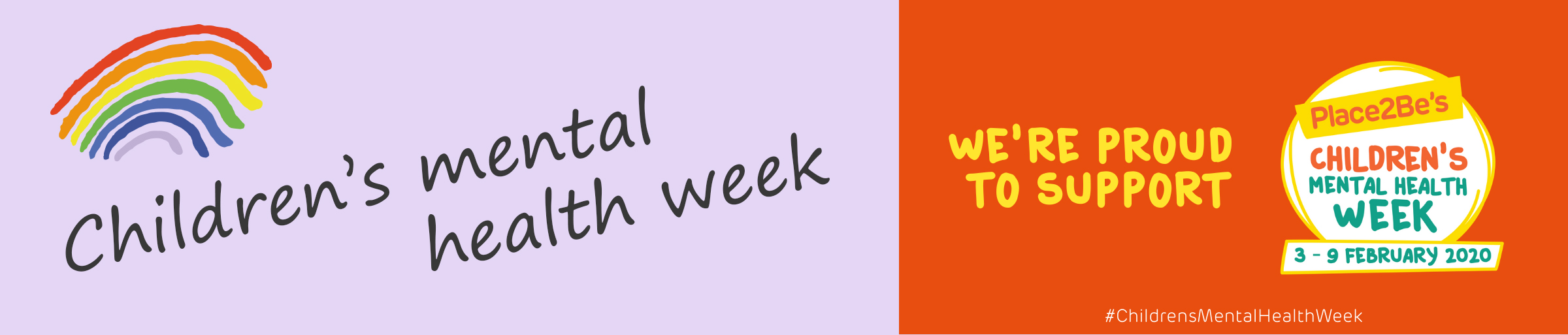 Children's Mental Health Week Banner