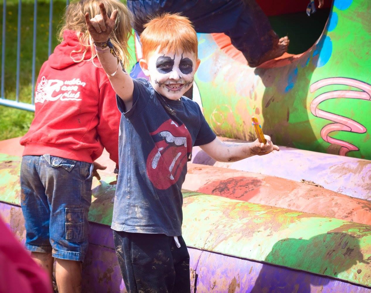 Sonny at a festival